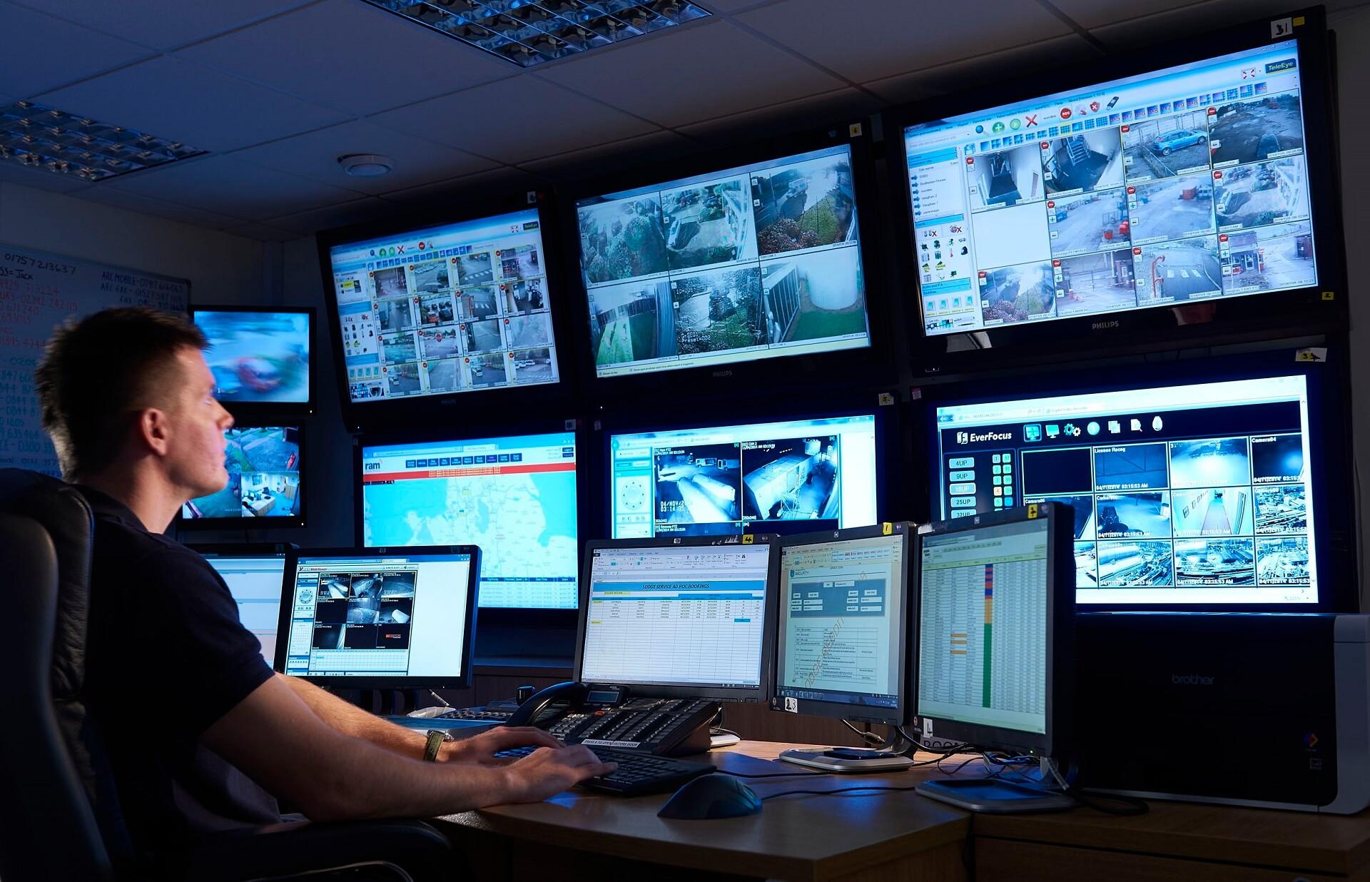 Agencja ochrony wiking monitoring tv przemysłowej
