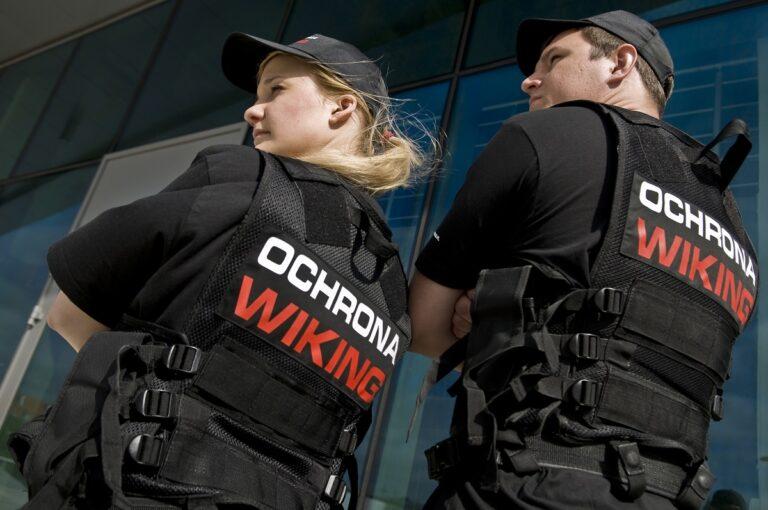 Kamery agencja ochrony wiking ochrona mienia ochraniarze mundur gdynia